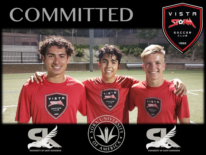Vista Storm S.C. Players Commit to Universities